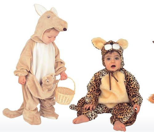 Especia carnaval: Disfraces calentitos para bebés y niños pequeños