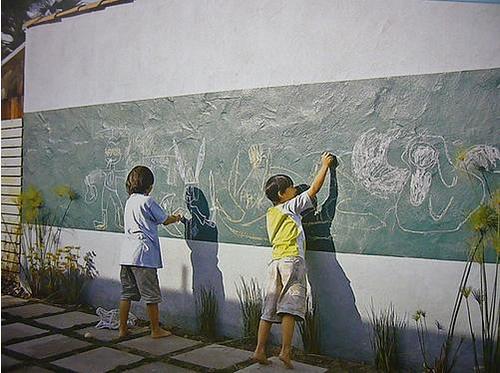 ¡… Y que pinten las paredes!
