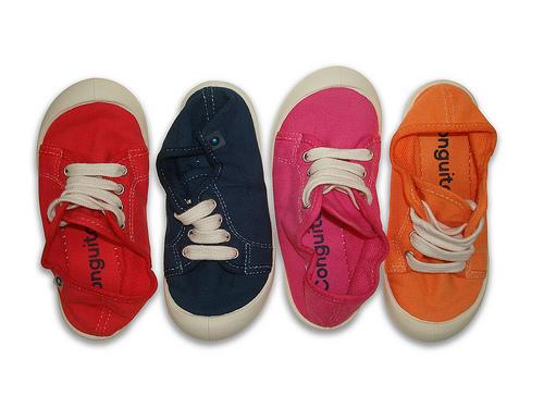 Zapatillas ecológicas con look vintage
