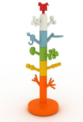 """""""Tree Paradise"""" nuevo perchero de diseño para niños"""