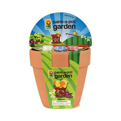 Maceta para pintar y plantar de Zara Home Kids