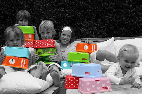 Dispensadores de toallitas funkybox