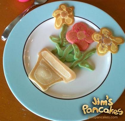 Anímate a hacer divertidos pancakes