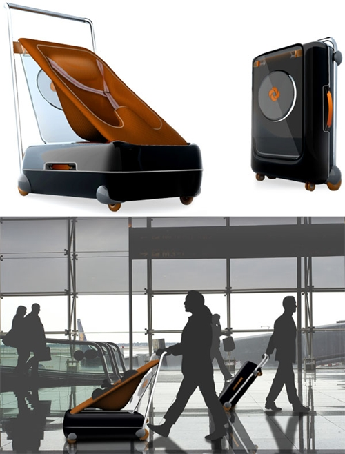 Strolley, la maleta-portabebé de Samsonite