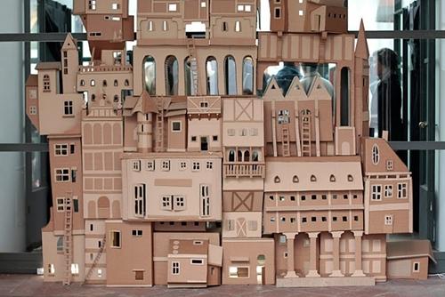 Clic clac foto… una ciudad de cartón