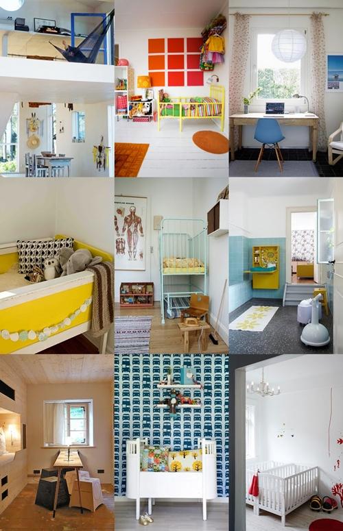 Habitaciones infantiles escandinavas