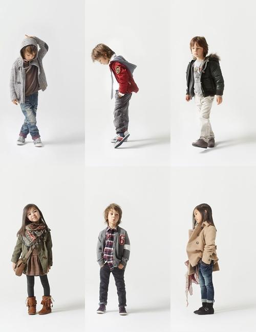 9b03e9845 Zara Kids, moda infantil para otoño