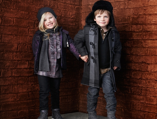 Burberry Children -invierno 2010
