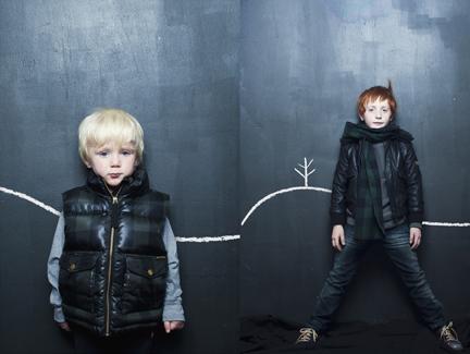 Moda infantil… por Caos Magazine