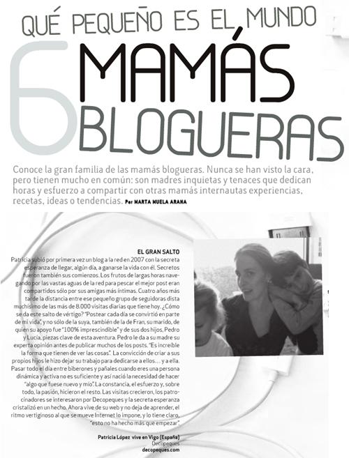 6 mamás blogueras en Naif Magazine