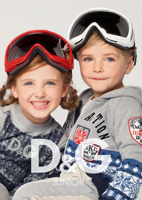 D&G junior, calentitos y muy fashion