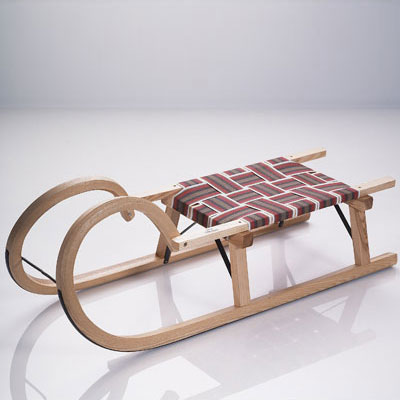 Trineos de madera, la tradición vuelve a las pistas