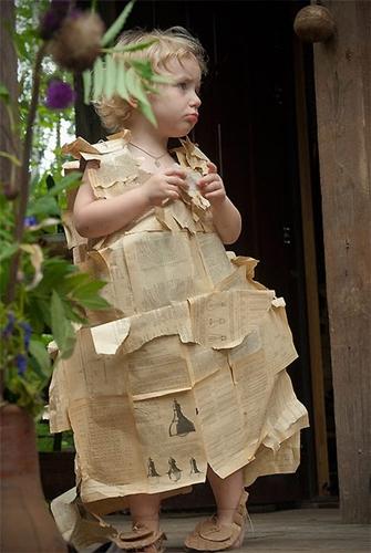 Disfraces caseros de papel
