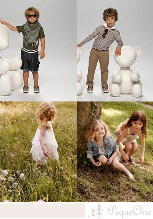Moda infantil- Escaparates de Verano 2011