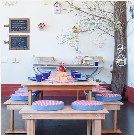 Espacios Cool para niños: Apples & Jam