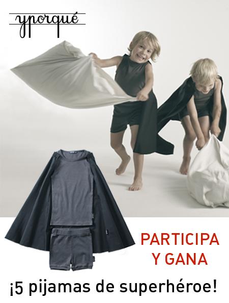 Sorteo: Pijamas de Superhéroe de yporque