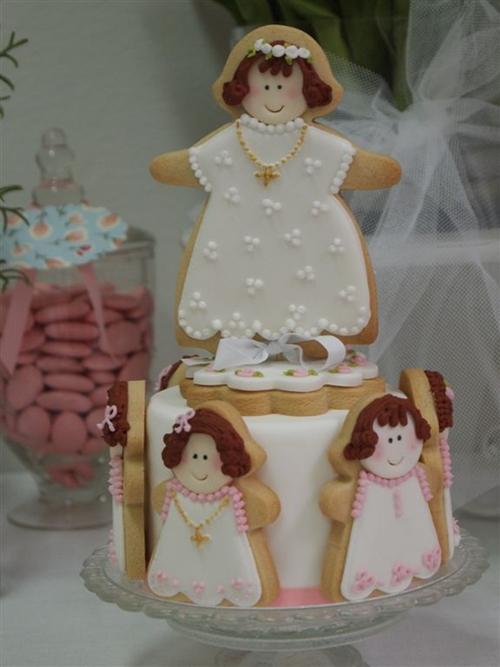 Especial Primera Comunión: la tarta y los cupcakes