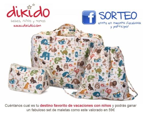 Sorteo en PequeChic: Gana estas maletas de Dikido
