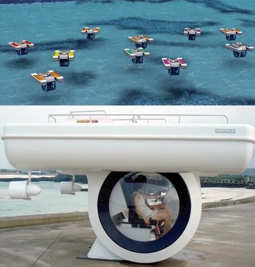 Mamá, llévame en submarino