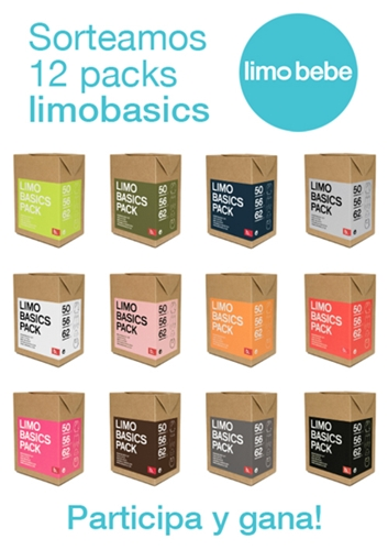 Sorteo: 12 packs de Limobasics