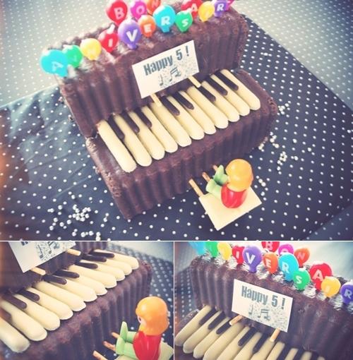 Clic clac foto… Tarta Piano