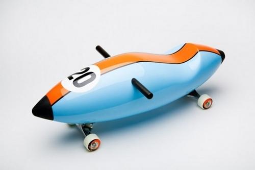 Torpedo, un correpasillos de diseño para niños