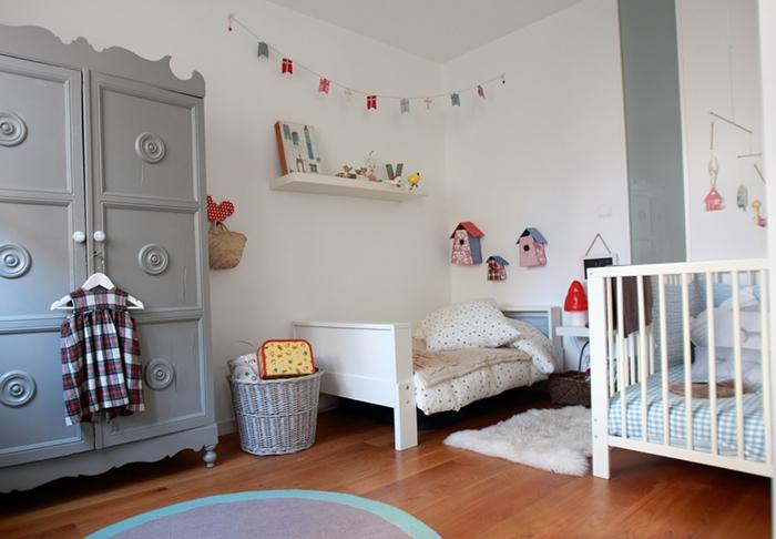 Una habitación infantil de acogida