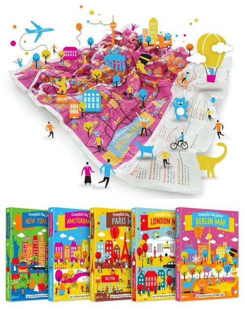 Los mapas que se arrugan, ahora también para niños