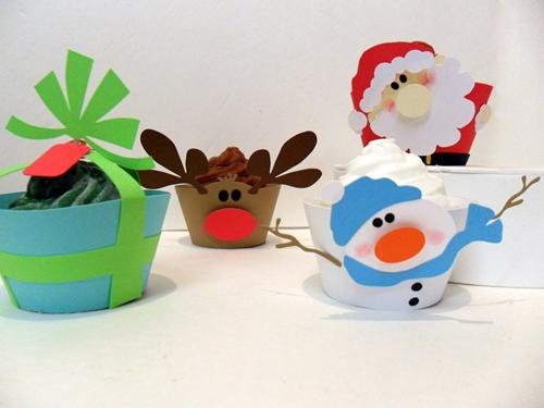 Moldes de Cupcakes para Navidad