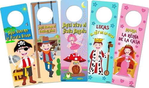 Colgadores infantiles para las puertas