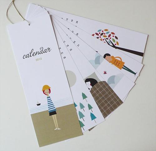 Un sencillo Calendario 2012