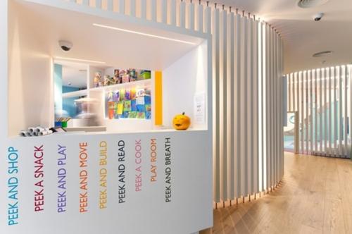 Espacios Cool para niños: Peek a Boo en Barcelona