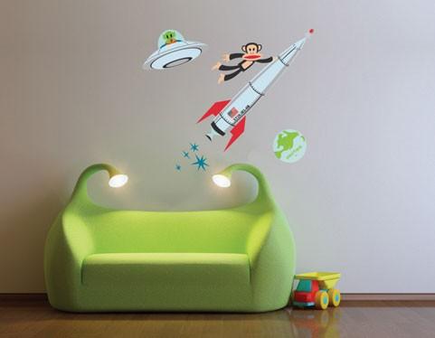 Stickers y Pegatinas infantiles de Paul Frank