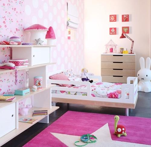 Dormitorios para niñas en rosa