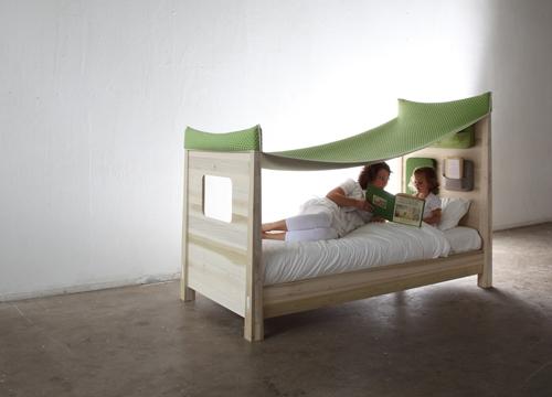 """""""Bedtimestories"""", una cama infantil muy especial"""