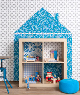 ¿Estantería o casa de muñecas?