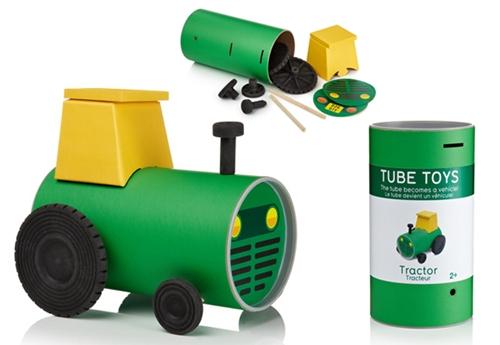 Tube Toys, el envoltorio que se convierte en el juguete