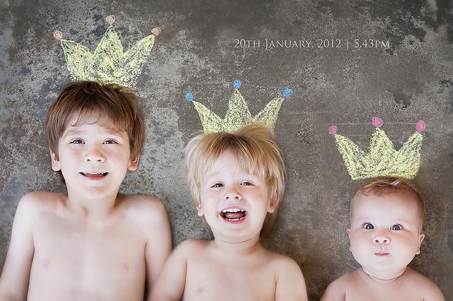 Fotos divertidas con niños…crea tu propio decorado