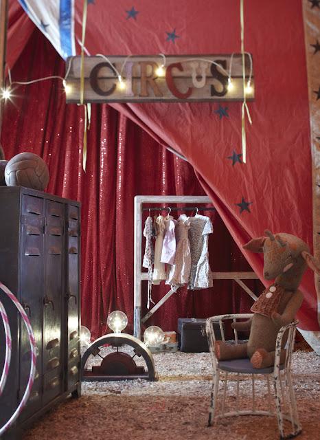Muebles infantiles en el circo