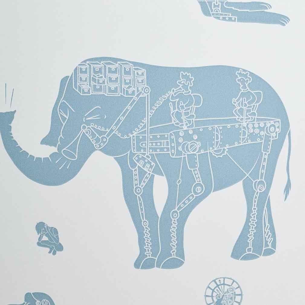 Papeles Pintados infantiles… Paper Boy Wallpaper