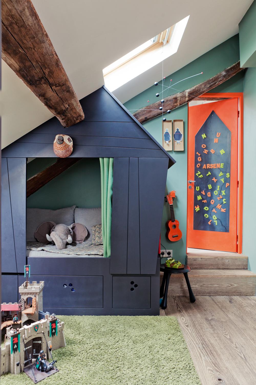 Ambientes que inspiran: Habitaciones infantiles en Paris