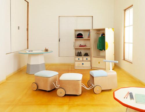 Muebles infantiles para jugar