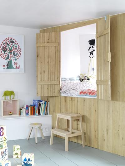 Soltar amarras!!… Dormitorio infantil flotante