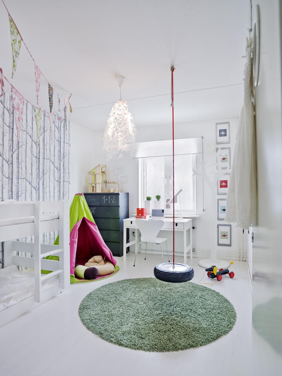 Sensación natural en la habitación infantil