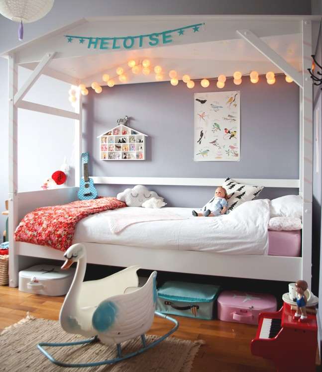 El dormitorio infantil de Heloise