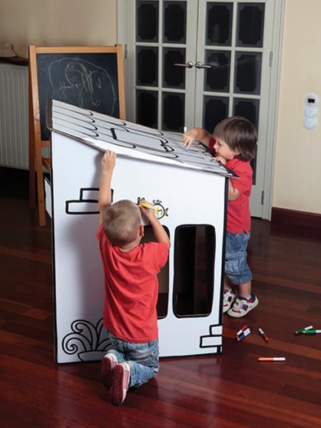 Setdecartró, casitas ecológicas de cartón para fomentar la creatividad