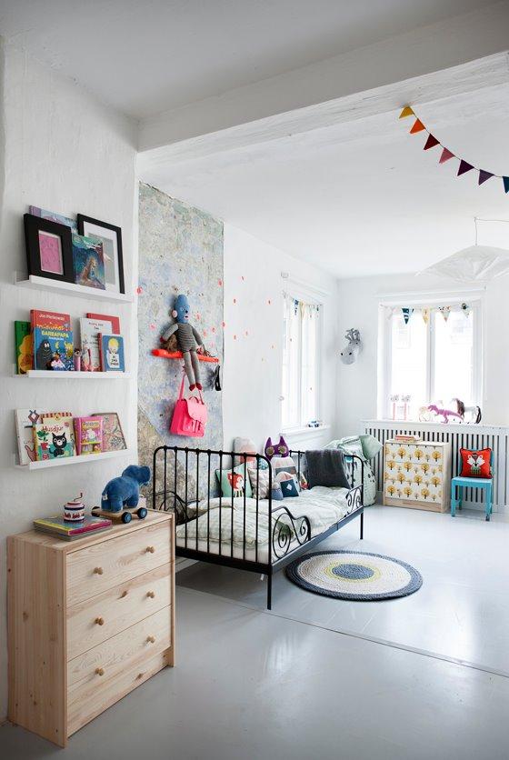 Dormitorio infantil para dos hermanos