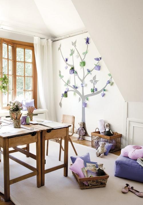 Habitaciones infantiles ideales para estudiar