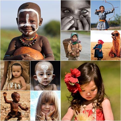 Niños del mundo en Fotos