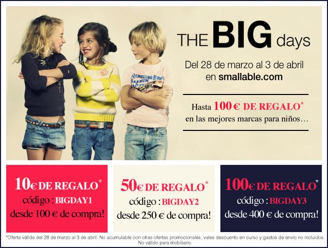 The BIG days en Smallable